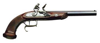 Pedersoli Le Page Target Flintlock Model Muzzleloading Pistol,  44 Caliber Md: S.327-044