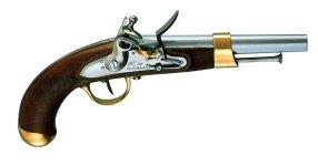 Pedersoli AN XIII Muzzleload Pistol, 69 Caliber Md: S.356-069