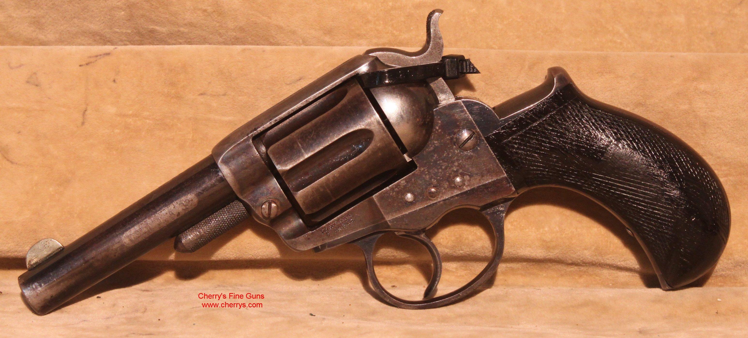 Double pistol handgun revolver gun display case cabinet rack shadowbox - 67819haw